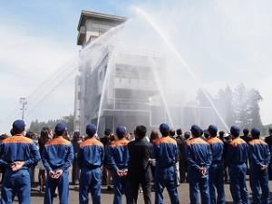 H27消防学校卒業式見学7
