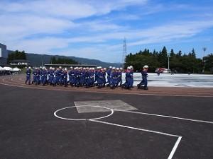 H27消防学校卒業式見学3
