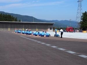 H27消防学校卒業式見学4