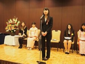 H27女子学生懸賞作文表彰式7