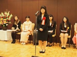 H27女子学生懸賞作文表彰式6