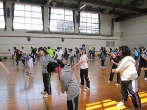 H28ST球技大会 (準備運動1)