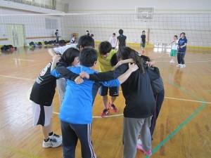 H28ST球技大会 (円陣)