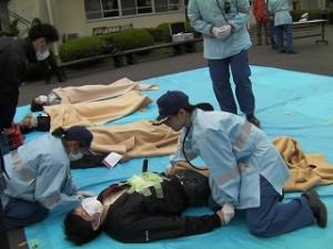 H29災害救助演習 (2)